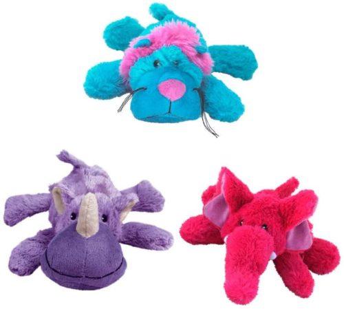 juguetes de perro para morder y esconder.
