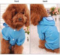 chubasquero para caniches ropa de invierno para perros