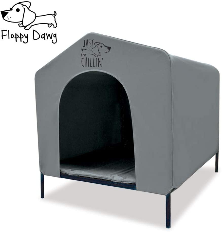 Casa para caniche mediano. caseta para perro mediano la mejor. Práctil y portatil.