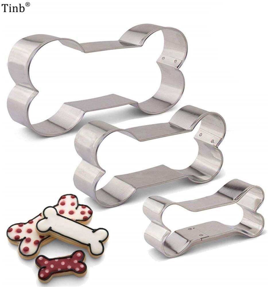 Galletas  con formas para tu caniche.  Moldes de galletas o cortantes de acero inoxidable para hacer galletas para perro.