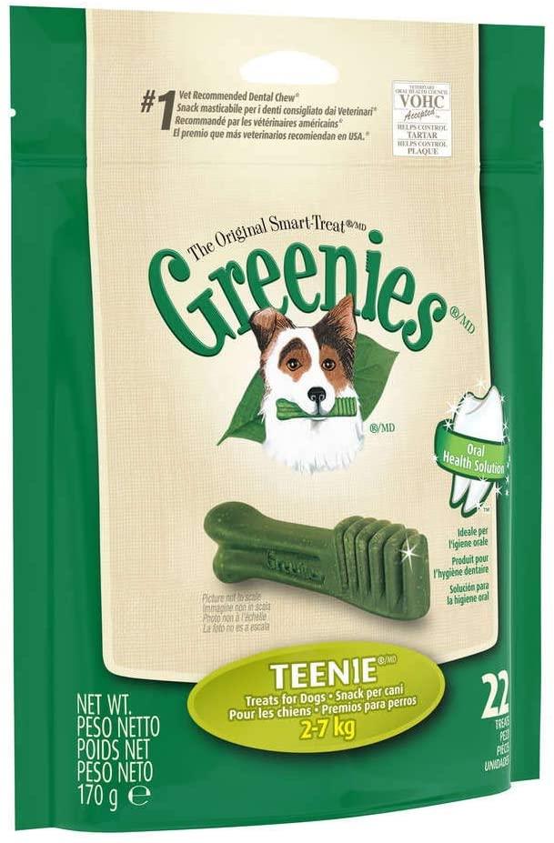 Snack para perros caniches toy con forma de cepillo de dientes. Ideal para limpiar los dientes del perro y mantenerlo libre de sarro. Buen aliento simpre
