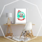 Retratos personalizados para perros