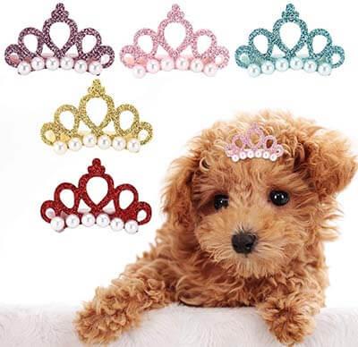 Clip o pinza para el pelo para la princesa de la casa. Mantiene sus ojos limpios y descubiertos de pelos.